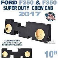 Ford F250 & F350 Super Duty Crew-Cab sub box