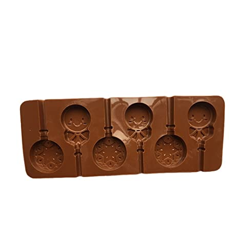 bestonzon moldes de silicona con chupete 6-capacité Cute ...