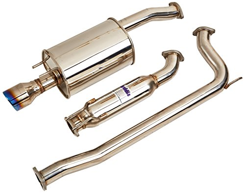 - Invidia (HS06HC4G3T) Q300 70mm Cat-Back Exhaust System with Titanium Rolled Tip for Honda Civic Si Sedan