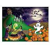 Beistle 00909 Halloween Insta Mural, 5-Feet by 6-Feet