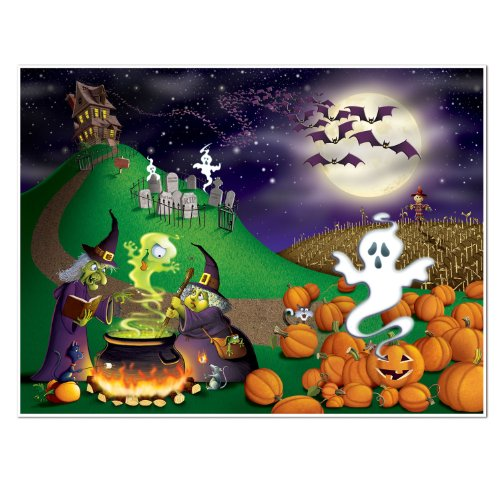 Beistle Halloween Insta Mural, 5-Feet by 6-Feet -