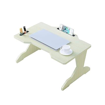 MYAOU&Laptop desk Ordenador portátil Escritorio Banco de Mesa Banco Cama Notbook Bandeja Lazy Multifunción Plegable portátil