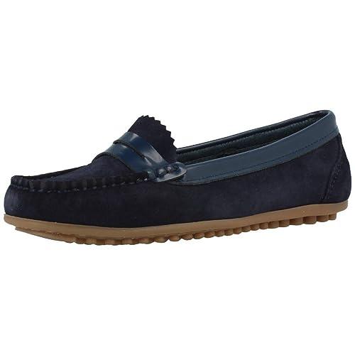 Mocasines para mujer, color Azul , marca MARTINELLI, modelo Mocasines Para Mujer MARTINELLI 435 4426SYM Azul: Amazon.es: Zapatos y complementos