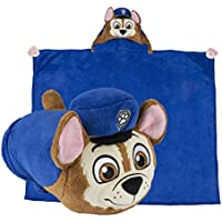 Comfy Critters Stuffed Animal Blanket – PAW Patrol Chase...