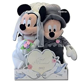 Mickey & Minnie Mouse Wedding Soft Toy: Amazon.co.uk: Toys & Games