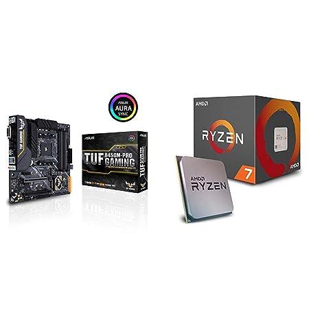 Pack Placa Base ASUS y Procesador AMD:TUF B450M-PRO Gaming y AMD Ryzen 7 2700: Amazon.es: Informática