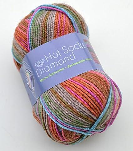 Gründl Hot calcetines de Lana Merino con diamond Colour{04}/ lana de merino
