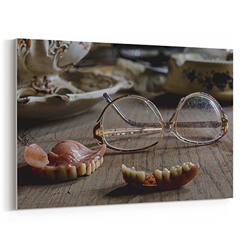 Westlake Art Canvas Print Wall Art - Vision Care on Canvas Stretched Gallery Wrap - Modern Picture Photography Artwork - Ready to Hang - (Weird Halloween Cakes)