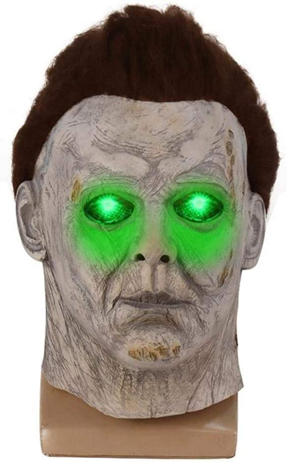 Michael Myers Mask 2020 Trick Or Treat Halloween Scary Mask Headgear Cosplay Props