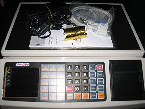 balanza bascula registradora con impresora de ticket y 1.000 plus ...