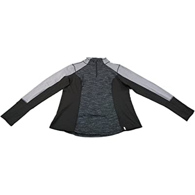 Active Life 90° by Reflex Ladies Small Athletic Jacket Black Snowflake/Silver Gray