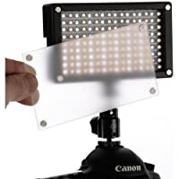Genaray LED-6200T 144 LED Variable-Color On-Camera Light(6 Pack) by Genaray