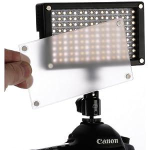 Genaray LED-6200T 144 LED Variable-Color On-Camera Light from Genaray