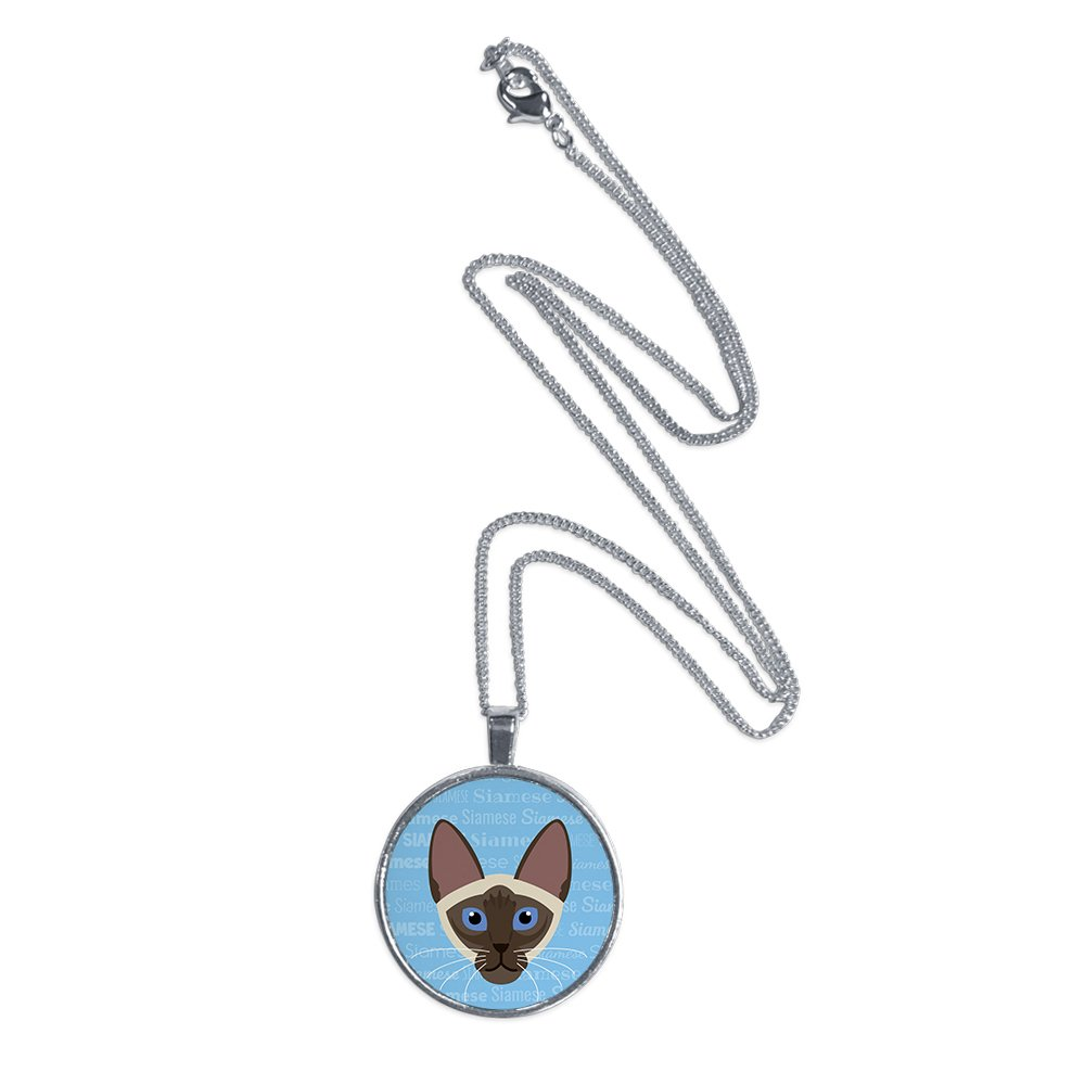 b025305a58ffc Amazon.com: Mystic Sloth Cat Breed Specific Pendant Necklace with 18 ...