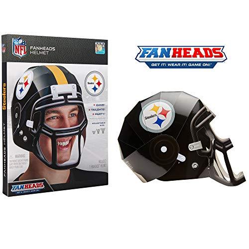 Kids Steelers Helmet (FanHeads - Wearable NFL Replica Helmets - Pick Your Team!, Pittsburgh)