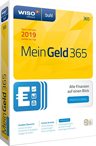 Price comparison product image WISO Mein Geld Professional 365,  1 DVD-ROM