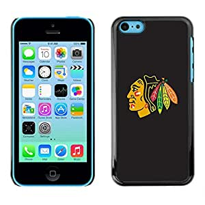 LOVE FOR iPhone 5Cs Blackhawk Native American Indian Chief Personalized Design Custom DIY Case Cover