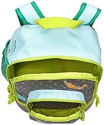 Lassig Kids Backpack for Kindergarten or  Pre-School with chest strap, name badge and drink Bottle Holder, Little Tree Fox
