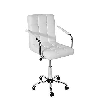 Fabulous Sanmey Modern Padded Swivel Pu Leather Computer Desk Office Ibusinesslaw Wood Chair Design Ideas Ibusinesslaworg