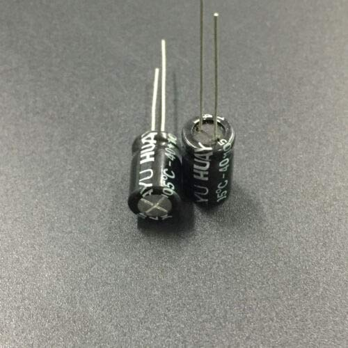 100 Volt Non Polar Capacitor - FidgetGear 10pcs 100V 4.7uF 100V 8x11.5mm Non Polar Electrolytic Capacitor