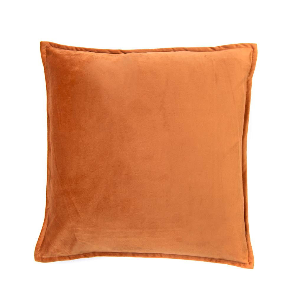 Decorative Throw Pillow Covers, Cushion Case Cotton Linen Pillowcases 18 x 18 inch (Camaera.1)