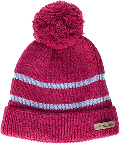 Columbia 1 Light - Columbia Kids & Baby Little Kids Auroras Lights Beanie, Cactus Pink, One Size
