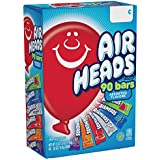 AirHeads Bars, Chewy Fruit Candy, Halloween, Variety Pack, 90 Count 3.1lbs