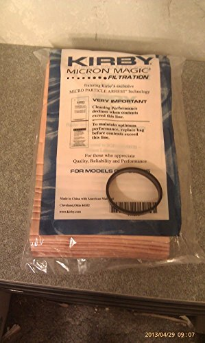 9 Sentria Micron Magic G3-6 Kirby Vacuum Bags FREE BELT BRAND NEW SEALED PRODUCT from Kirby