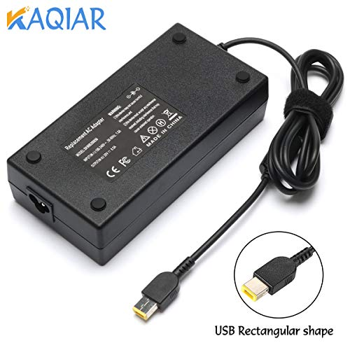 - New P50 P51 P70 Power AC Charger Compatible with Lenovo Thinkpad W540 W541 E440 E450 E555 S431,fit Legion 4X20E50574 ADL170NLC2A Laptop [20V 8.5A 170W]