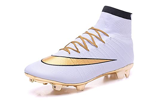 white and gold mercurial