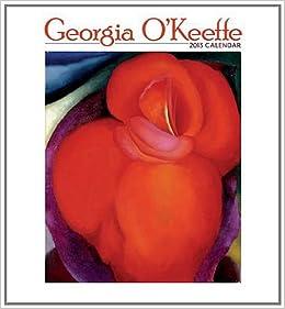 georgia okeeffe calendar 2013