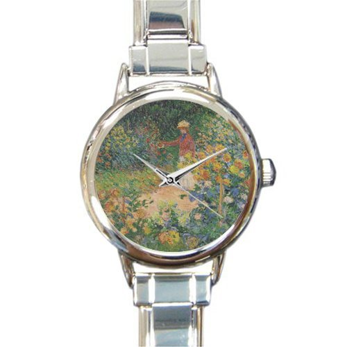 Casette Giardino Design.Amazon Com Personalized Watch Giardino Monet Round Italian