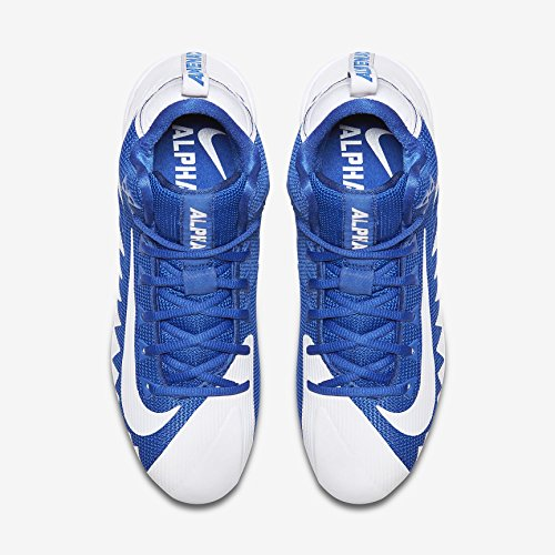 Crampons Football Pro 44 white Game white Royal Alpha Nike Menace Américain Mid fTwT5q