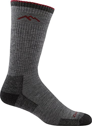 - Darn Tough Men's Wool Boot Cushion Sock (Style 1403) - 6 Pack Special Offer (Charcoal, Large)