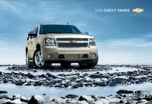 Original Dealer Brochure - 2010 Chevrolet Tahoe 16-page Original Dealer Sales Brochure