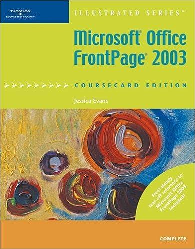 gratuitement frontpage 2003 livre
