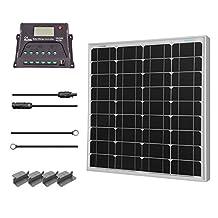 Renogy 50W 12V Monocrystalline Solar Starter Kit
