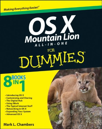 [PDF] OS X Mountain Lion All-in-One For Dummies Free Download | Publisher : For Dummies | Category : Computers & Internet | ISBN 10 : 111839416X | ISBN 13 : 9781118394168
