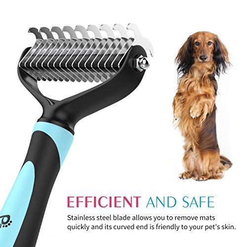 Productos para mascotas Higiene Pet Living Cepillo de Aseo para Mascotas de Doble Cara