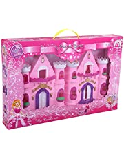 Hung Feng Long Castle Shaped Doll House with Accessories