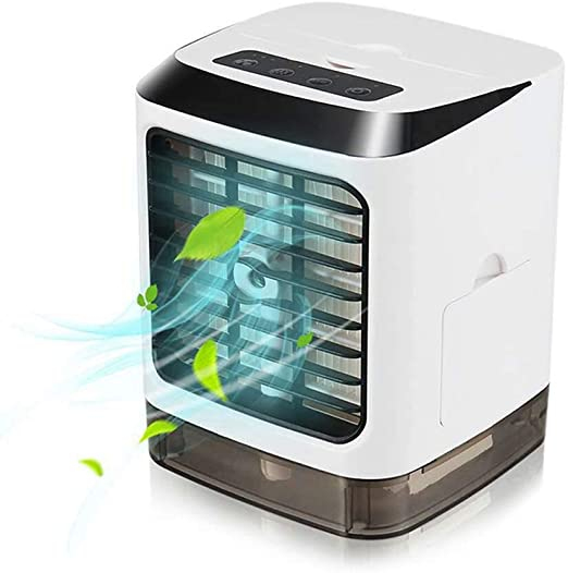USB Mini Aire Acondicionado Portátil Humidificador Purificador Sin ...