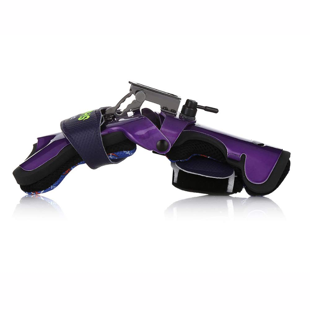 Rev-Up Shark Mongoose Bowling Wrist Support Accessories for Right Hand Purple Color (S) by [Rev-UpOEM] (Image #2)