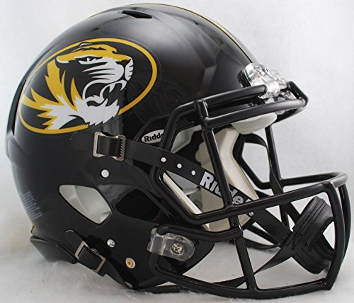 Riddell Sports NCAA Missouri Tigers Speed Authentic Helmet, Black