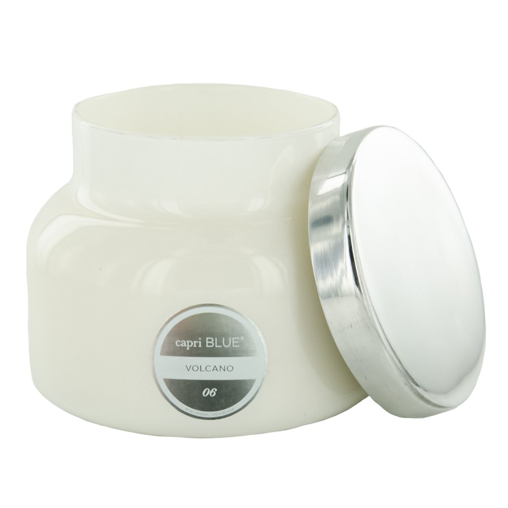 Capri Blue CB705VOL White 19 Ounce Volcano Jar Candle