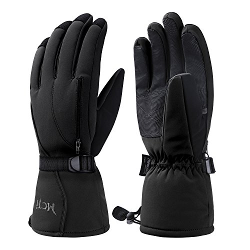 Citoor Mens Winter Ski Gloves Waterproof 3M Thinsulate Insulation Snowboard Snow Motorcycle Extreme Cold Weather Gloves