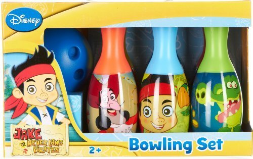 What Kids Want Jake and The Never Land Pirates Licensed Bowling Set [Holiday Gifts]