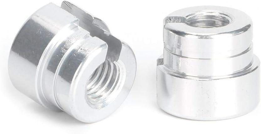 Qiilu Throttle Cable Bushings Aluminum Throttle Cable Bushings Kit Fit for E30 E28 E39 E36 M20 M30 M50 S14 M60 Cable Bushings