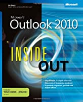 Microsoft Outlook 2010 Inside Out Front Cover