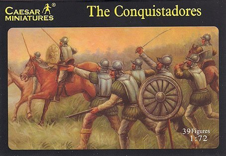 - The Conquistadores - 1/72 Plastic Soldiers by Caesar Miniatures