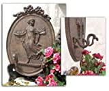 Cast Iron Lady Two Hook Hanger - Set of 2